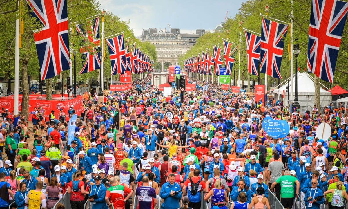 London Marathon (The Guardian)