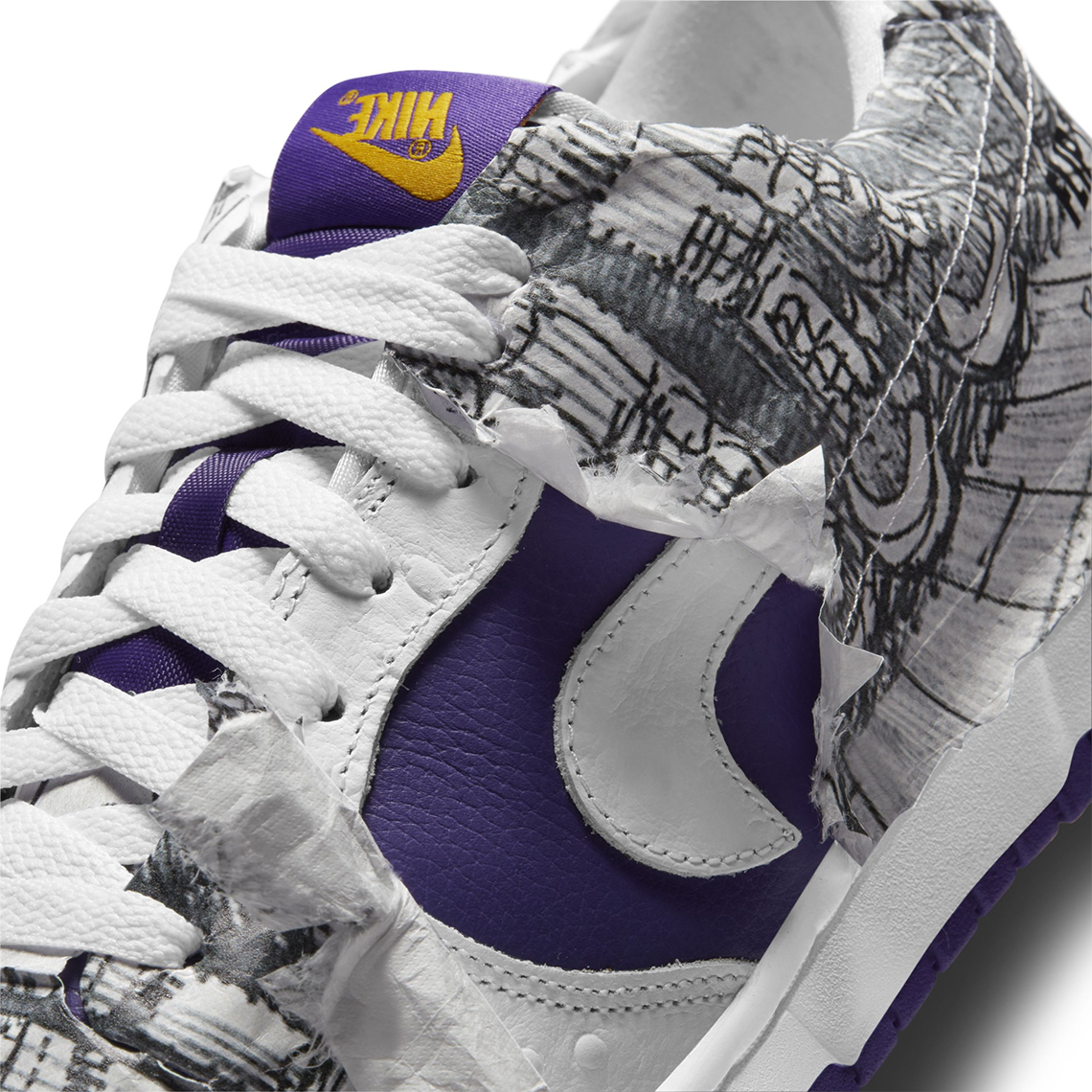 Nike Dunk Low Flip The Old Shool 4
