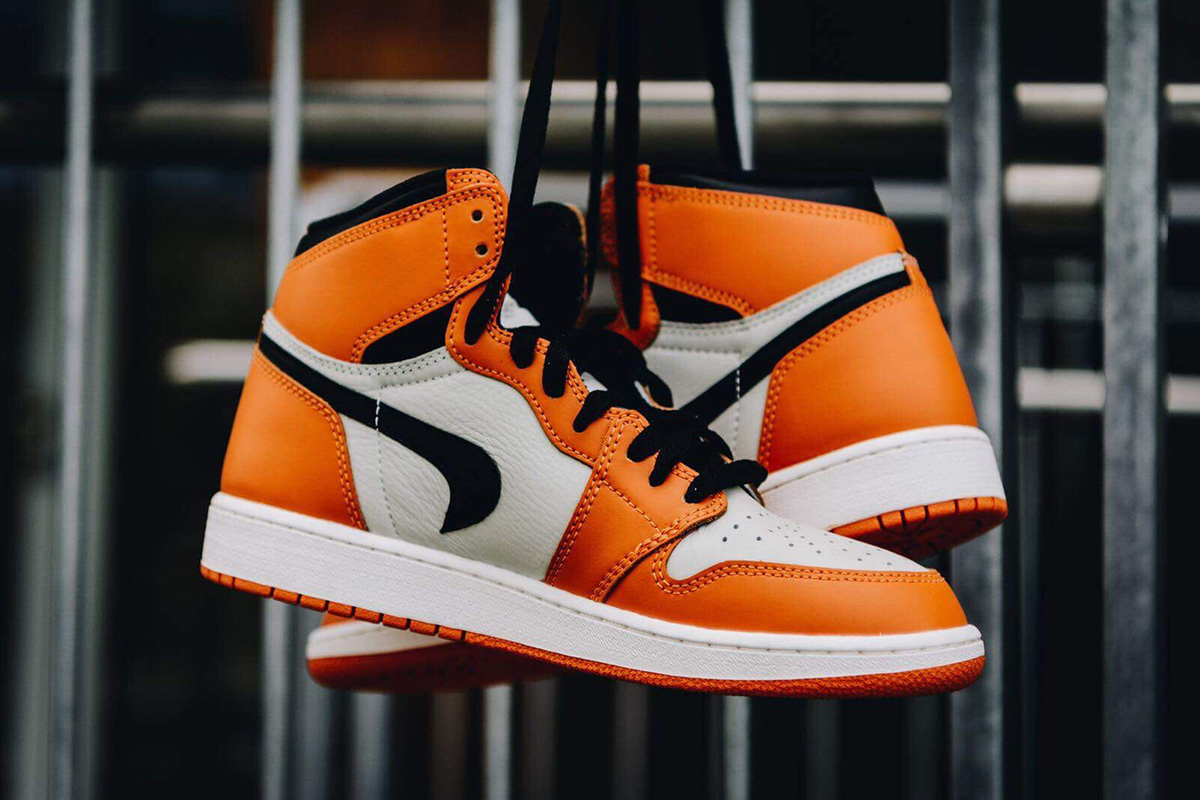 BACKWARDS SWOOSH NIKE AIR JORDAN 1 SHATTERED BACKBOARD