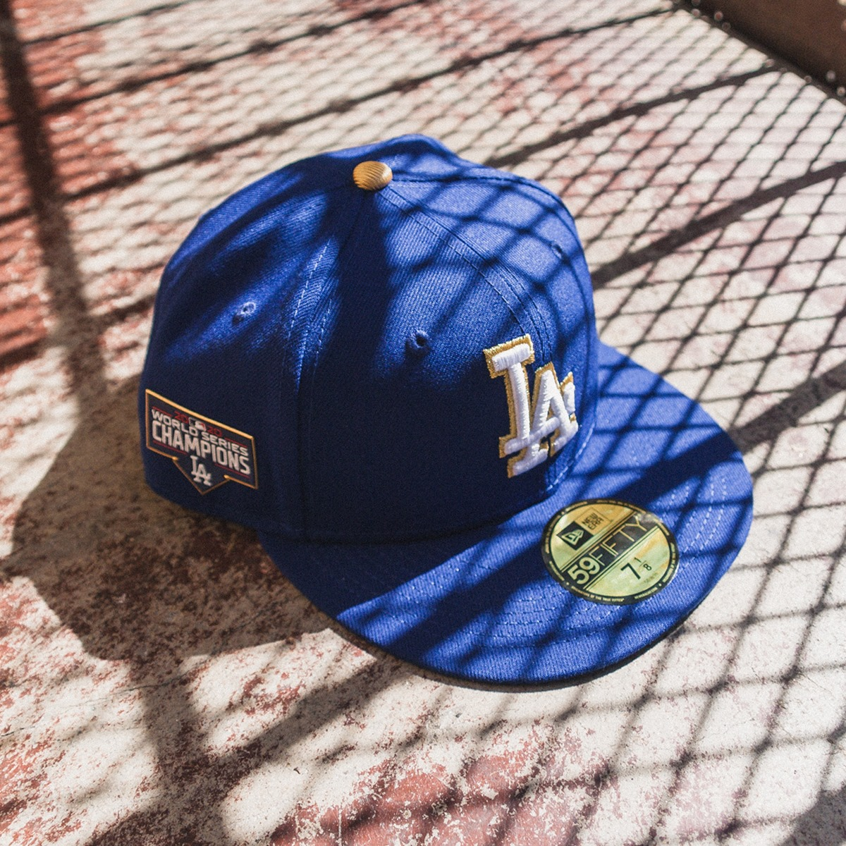 New Era Cap Los Angeles Dodgers MLB Gold Collection